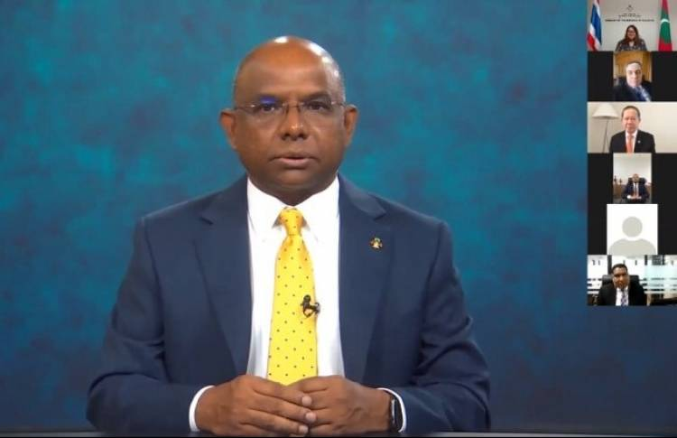 Maldives Embassy in Thailand hosts virtual reception to mark 55th Independence Day