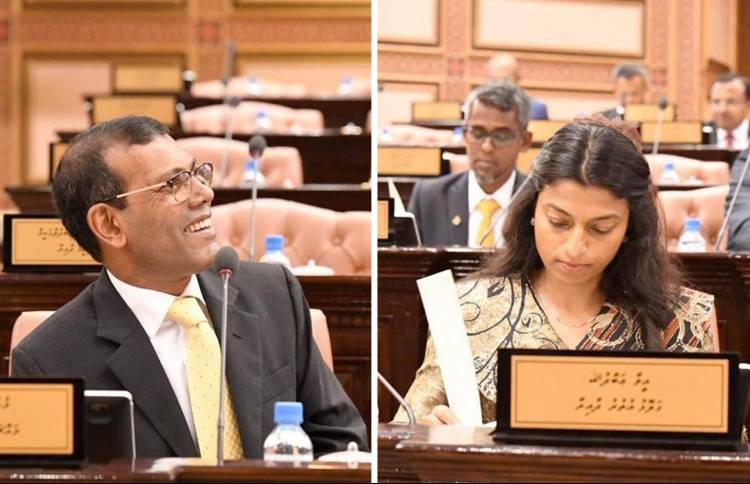 Ex-pres Nasheed elected as parliament speaker in landslide win