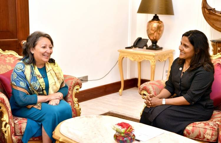 UNICEF South Asia Regional Director calls on First Lady