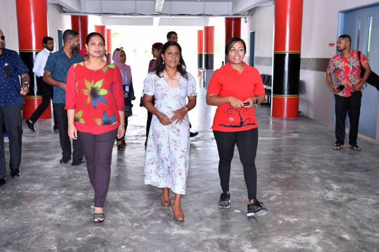 First lady launches the 'Hearty Breaks' programme
