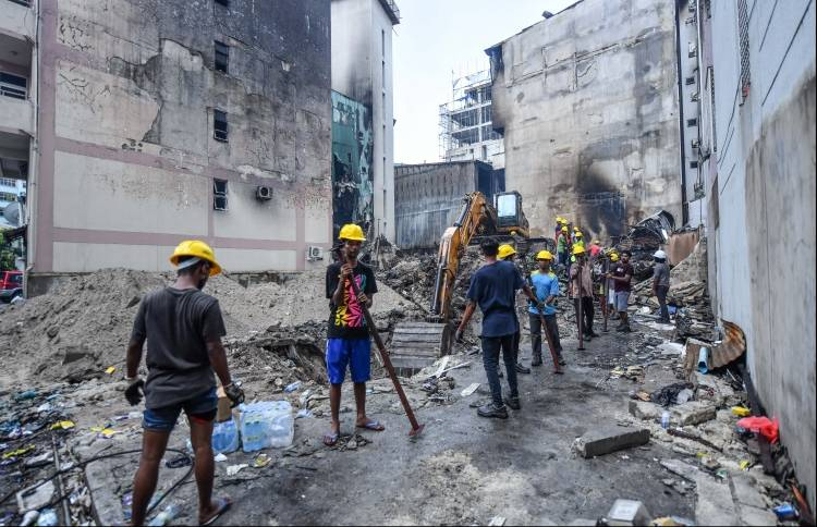 NDMA moves victims of fire tragedy back to homes