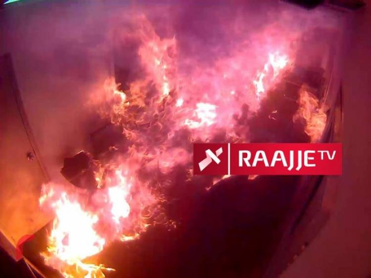 "Then-president Yameen was told ""mission accomplished"" after RaajjeTV arson attack"