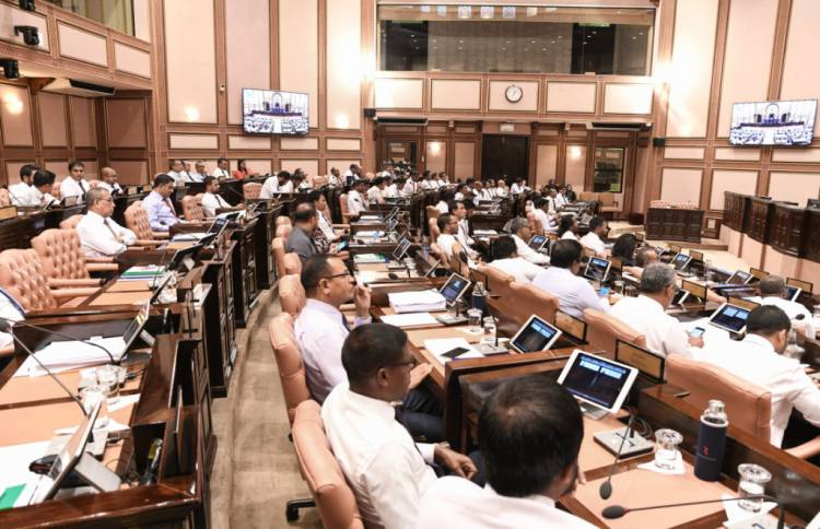 Parliament approves motion to borrow MVR 4 bln from central bank