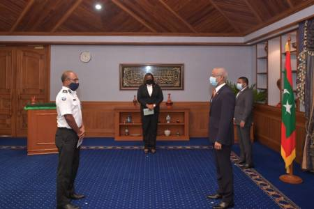 President Solih appoints Commissioner General of Customs