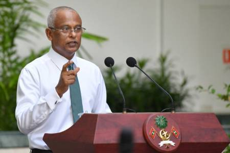 China to suspend debt repayment for four years: President Solih