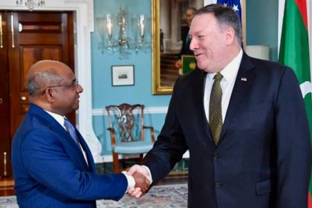 Foreign Minister Shahid, US Secretary of State Pompeo discuss enhanced cooperation