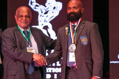 Rifau appointed executive member of South Asian Bodybuilding & Fitness