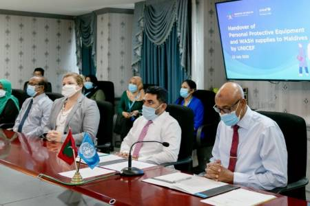 UNICEF donates supplies to bolster Maldives' COVID-19 response