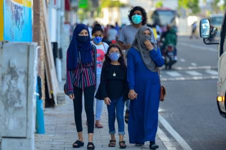 COVID-19: Maldives mandates face masks, MVR 1000 fine for violations
