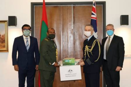 Australia donates PPE worth MVR 1.8 million to Maldives