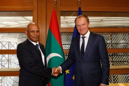 Ambassador to EU presents credentials to European Council President