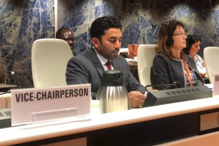 News / Abdulla Ameen, Minister of Health Health Minister appointed Vice-Chair of World Health Assembly