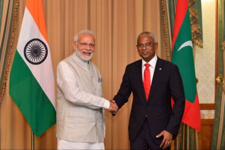 Indian Prime Minister Modi to visit Maldives