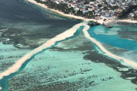 Land reclamation for Hoarafushi airport project commences
