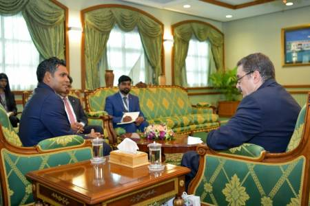 Foreign envoys call on Vice President Faisal Naseem