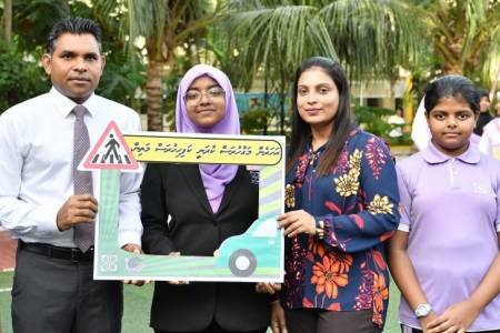 VP Naseem urges vigilance during 'Road-Safety Campaign'