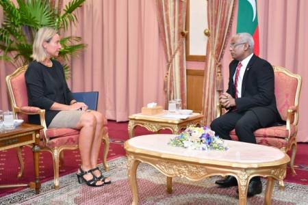 High Representative Mogherini calls on President Solih
