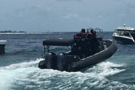 Police takes Commission investigations to sea