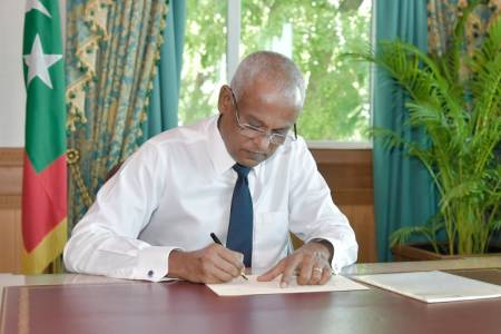 President Solih ratifies Maldives Fisheries Bill