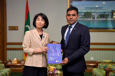 "Maldives could play guiding role internationally to ensure a more ""livable planet"": Akiko Fujii"