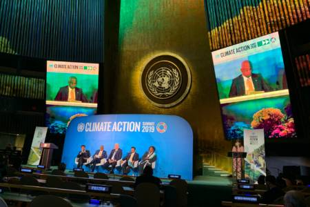 Unofficial transcript of Pres. Solih's statement at Climate Action Summit