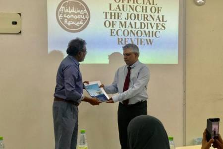 Inaugural issue of Maldives Economic Review released
