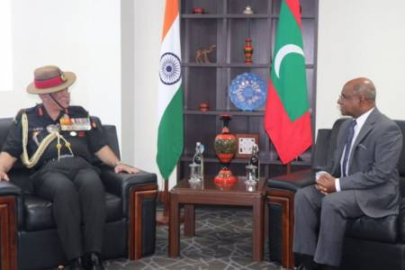 India makes an important contribution towards Maldivian security forces capacity building: Shahid