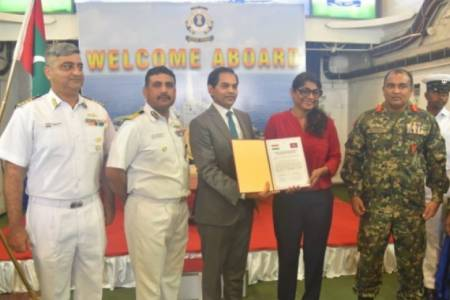 India donates ammunition consignment to MNDF