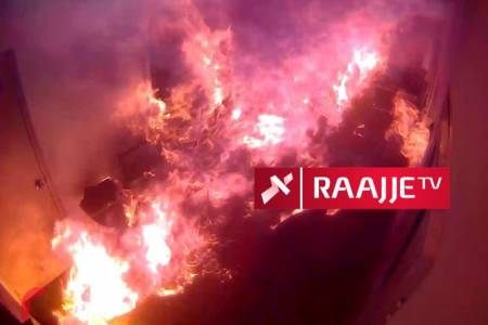 """Then-president Yameen was told """"mission accomplished"""" after RaajjeTV arson attack"""