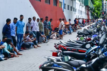 Maldives to relocate workers from 23 high-risk accommodation blocks