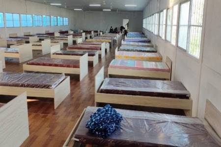 Govt completes Gulhifalhu quarantine facility with 665 beds