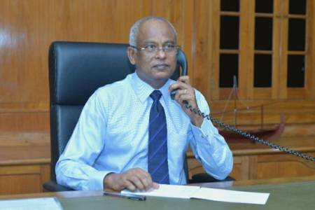 President Solih, Ireland's Prime Minister discuss pandemic response