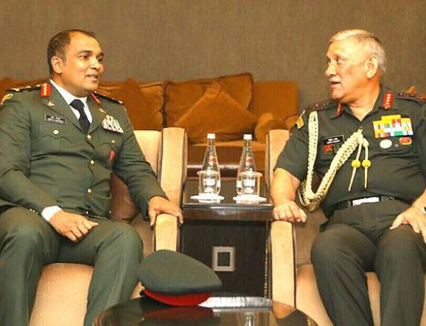 India's Chief of Army Staff arrives in Maldives on six-day official visit